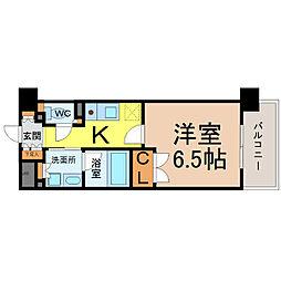 グラン・アベニュー名駅(メイエキ)[2階]の間取り
