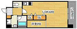 DiasII 鶴見6丁目新築[402号室号室]の間取り