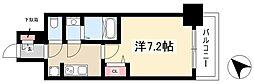 ADVANCE NAGOYA MOXIE 5階1Kの間取り