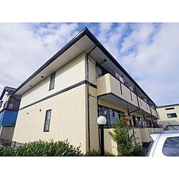 静岡県静岡市清水区渋川の賃貸アパートの外観
