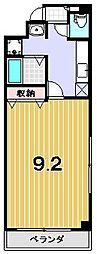 グリーンコート[202号室]の間取り