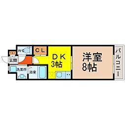 LaniKaiPark(ラニカイパーク)[306号室]の間取り