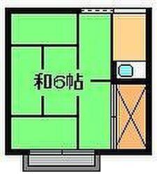 菅原荘[2階]の間取り