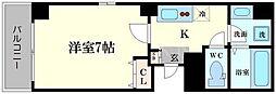 ラフォンテ松屋町[5階]の間取り