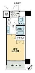 S-FORT蒔田公園[205号室]の間取り