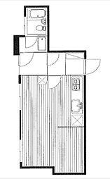 ライオンズマンション雷門[8階]の間取り