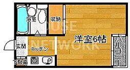 オリオン星の子[305号室号室]の間取り