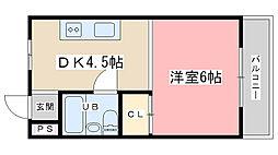 シャトレ森田[301号室]の間取り