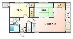 ホワイトスペース[3階]の間取り