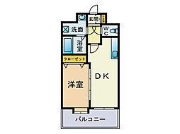 スカイシャトレ[3階]の間取り