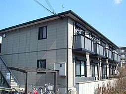 兵庫県神戸市垂水区学が丘4丁目の賃貸アパートの外観