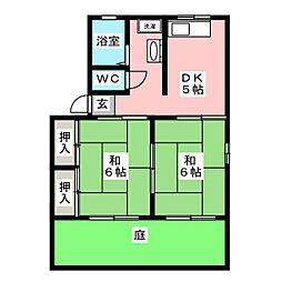 シティハイムHAST[1階]の間取り