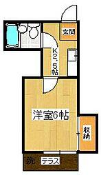 エスポワール21 B棟[102号室]の間取り