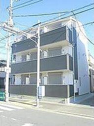 東京都葛飾区四つ木3丁目の賃貸アパートの外観