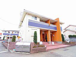 東京都東久留米市下里5丁目の賃貸アパートの外観