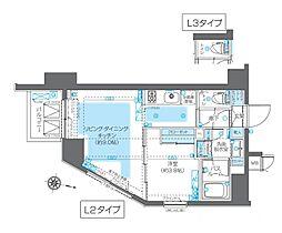 ZOOM神宮前[9階]の間取り