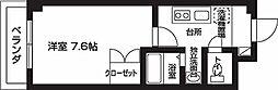 オランジュ弥刀[310号室号室]の間取り