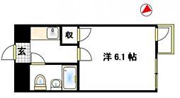 東京都町田市忠生4丁目の賃貸マンションの間取り
