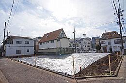 現地(H30.1撮影)/東急池上線「石川台」駅より徒歩4分、現地周辺は閑静な住環境です