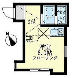 ソニオ ユナイト[2階]の間取り