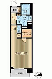ラクラス田町[0904号室]の間取り