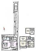 G区画 建物参考プラン:間取り/3LDK、延床面積/82m2、建物参考価格/999万円(税込)
