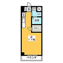 ソレーユ本郷18[5階]の間取り