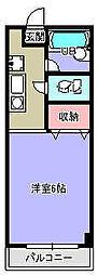 クローネ[3階]の間取り