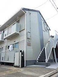 京都府京都市上京区如水町の賃貸アパートの外観