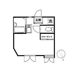 メゾン北鎌倉[204号室]の間取り