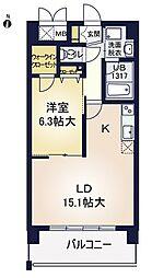 ア・ミュゼ新大阪[11階]の間取り