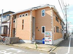 福岡県春日市千歳町3丁目の賃貸アパートの外観