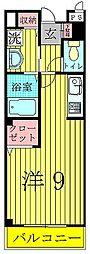 千葉県柏市つくしが丘5丁目の賃貸アパートの間取り