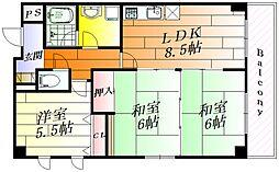 クリエール21[2階]の間取り