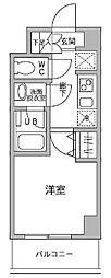パークフラッツ横濱平沼橋[7階]の間取り