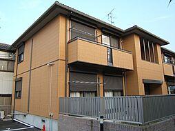 京都府城陽市寺田乾出北の賃貸アパートの外観