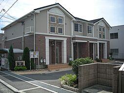 大阪府堺市北区百舌鳥陵南町3丁の賃貸アパートの外観