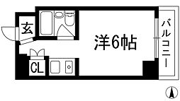 シェルプール弐番館[3階]の間取り