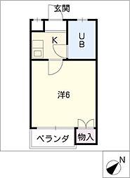 コンセール関山[1階]の間取り