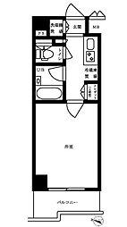 ルーブル豊島千川[203号室]の間取り