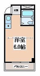 ロイヤルシード小阪[3階]の間取り