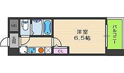 HOPECITY天神橋[2階]の間取り