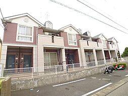 千葉県柏市しいの木台2丁目の賃貸アパートの外観