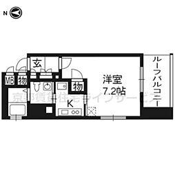 ベラジオ四条烏丸701[7階]の間取り