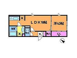 (仮称)D−room府中市緑町[1階]の間取り