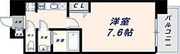 Osaka Metro中央線 緑橋駅 徒歩6分の賃貸マンション 4階1Kの間取り
