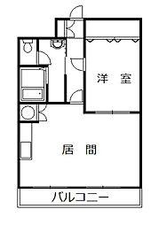 丸タカビル[305号室]の間取り