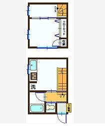 [一戸建] 神奈川県横浜市南区中村町4丁目 の賃貸【/】の間取り