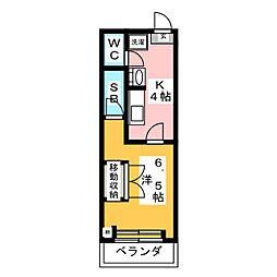 サン・メリーナ[1階]の間取り