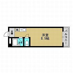 大阪府大阪市此花区高見3丁目の賃貸マンションの間取り